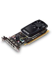 NVIDIA Quadro P1000 - Tarjeta gráfica - Quadro P1000 - 4 GB GDDR5 - PCIe 3.0 x16 perfil bajo - 4 x  VCQP1000-ESPPB