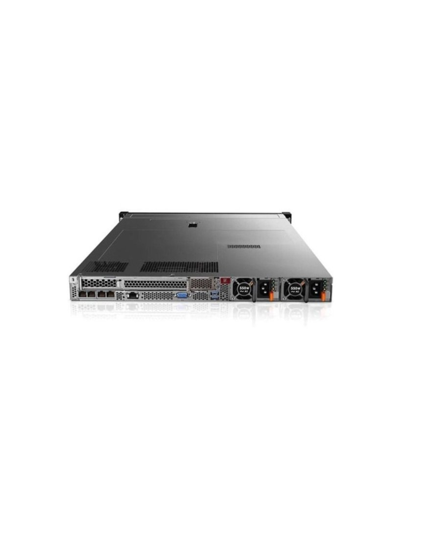 Lenovo - Server - Rack-mountable - 2 Intel Xeon Silver 4114 / 2.2 GHz - 16 GB DDR SRAM - 480 GB Hard 7X02S1D200