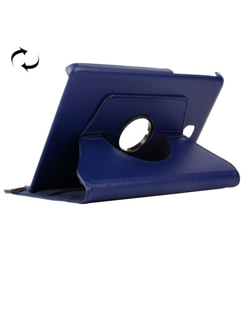"Estuche Azul con Soporte con Rotacion para Galaxy Tab A 8"" T350"
