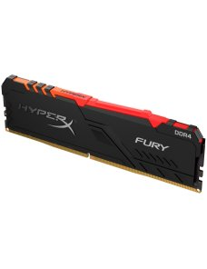 HyperX FURY RGB - DDR4 - 16 GB - DIMM de 288 espigas - 2666 MHz / PC4-21300 - CL16 - 1.2 V - sin bú HX426C16FB3A16