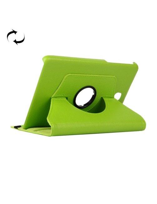Estuche Verde con Soporte con Rotacion para Galaxy Tab E 9.6 / T560 / T561
