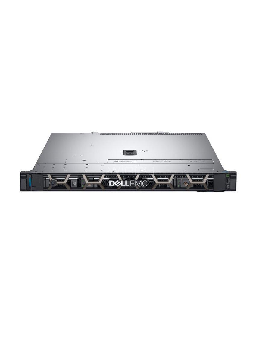 Dell - Server - Rack-mountable - 1 Intel Xeon E-2124 / 3.3 GHz - 8 GB DDR SRAM - 2 TB Hard Drive Cap JW3FT