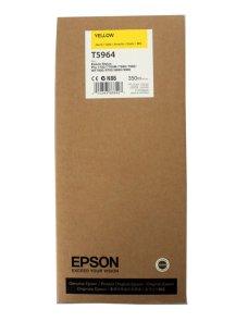 Tinta Original Epson T5964 T596400 Amarillo Plotter Pro 7700/7890/7900/9700/9890/9900