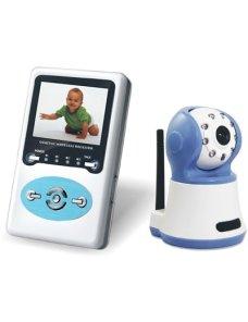 Camara o Monitor para Bebes con Visión Nocturna, Parlantes y Microfono