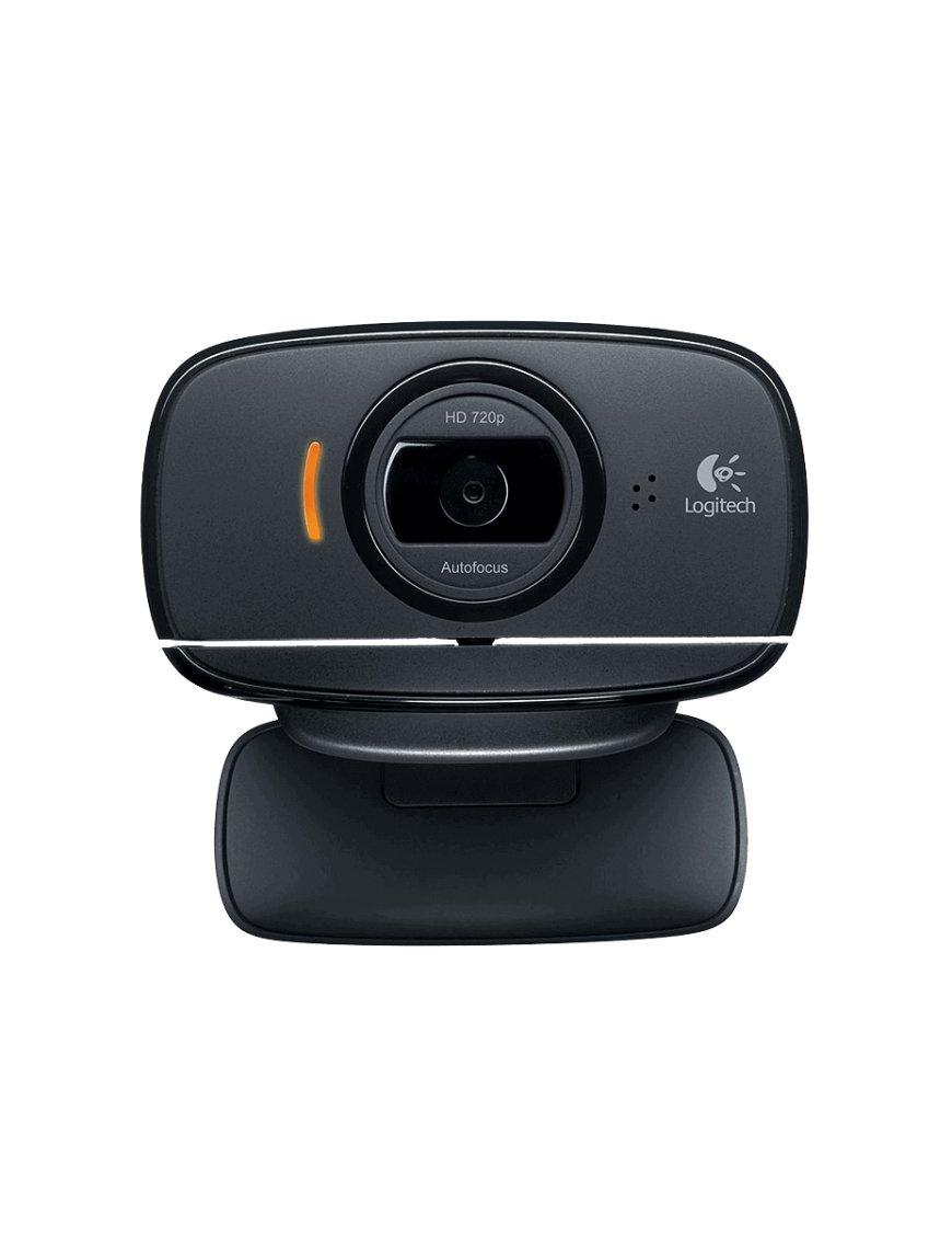 Webcam Logitech HD C525 con Micrófono, 8MP, 1280 x 720 Pixeles, USB 2.0, Negro