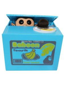 Alcancia de Mono para Niños/as