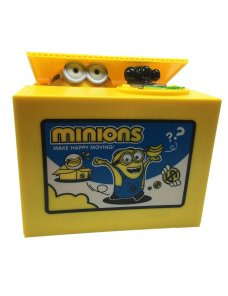 Alcancia de Minions para Niños/as
