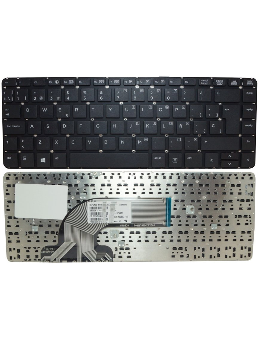 Teclado HP ProBook 640 G1 645 440 445 G1 G2 430 G2 721520-161 767470-161