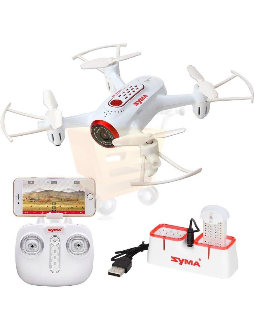 Drone Syma X22W 2.4G 4CH WIFI Drone FPV 0.3MP HD Camera RC Quadcopter 6 Axis Gyro