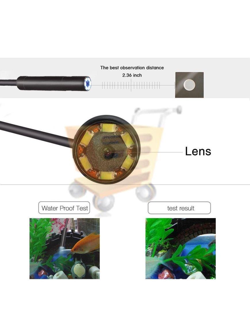 Camara endoscopia resistente al agua de 2 metros MICRO USB
