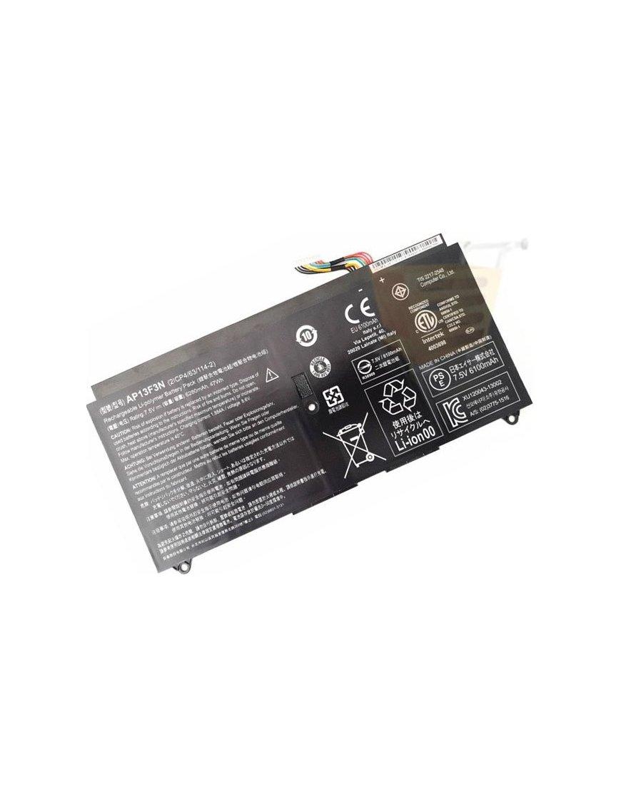 Bateria Original Acer Aspire AP13F3N S7-392 S7-392-6411 S7-392-9460 S7-392-9439 47Wh