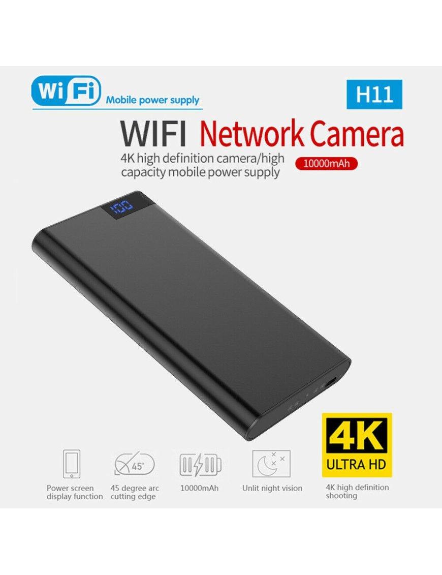 Power Bank con Camara Espia 4K 10000mAh WIFI 1080P HD