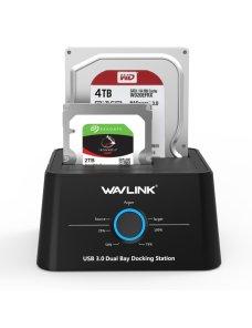 Docking para discos duros SATA a USB-C Wavlink WL-ST334UC