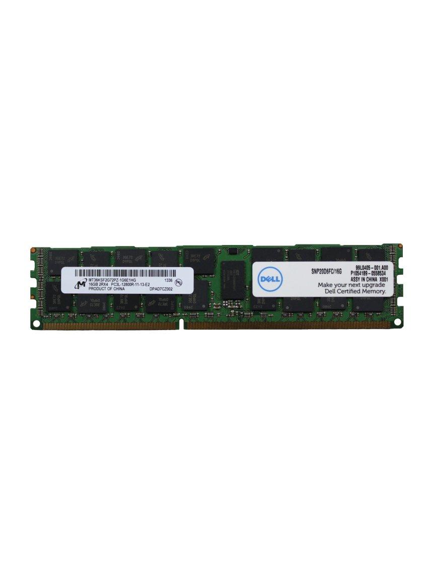 Memoria Original Servidor Dell SNP20D6FC/16G Dell 16GB 1600MHz PC3L-12800R Memory
