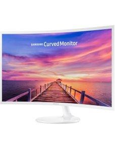 "Samsung C32F391FWL - CF391 Series - monitor LED - curvado - 32"" (31.5"" visible) - 1920 x 1080 Full H LC32F391FWLXZS - Imagen 1"