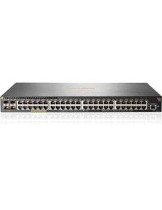 HPE Aruba 2930F 48G PoE+ 4SFP - Conmutador - L3 - Gestionado - 48 x 10/100/1000 (PoE+) + 4 x Gigabit JL557A - Imagen 1