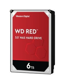 "WD Red NAS Hard Drive WD60EFAX - Disco duro - 6 TB - interno - 3.5"" - SATA 6Gb/s - 5400 rpm - búfer WD60EFAX - Imagen 1"